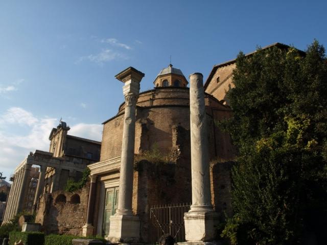 Vestiges du forum Romain