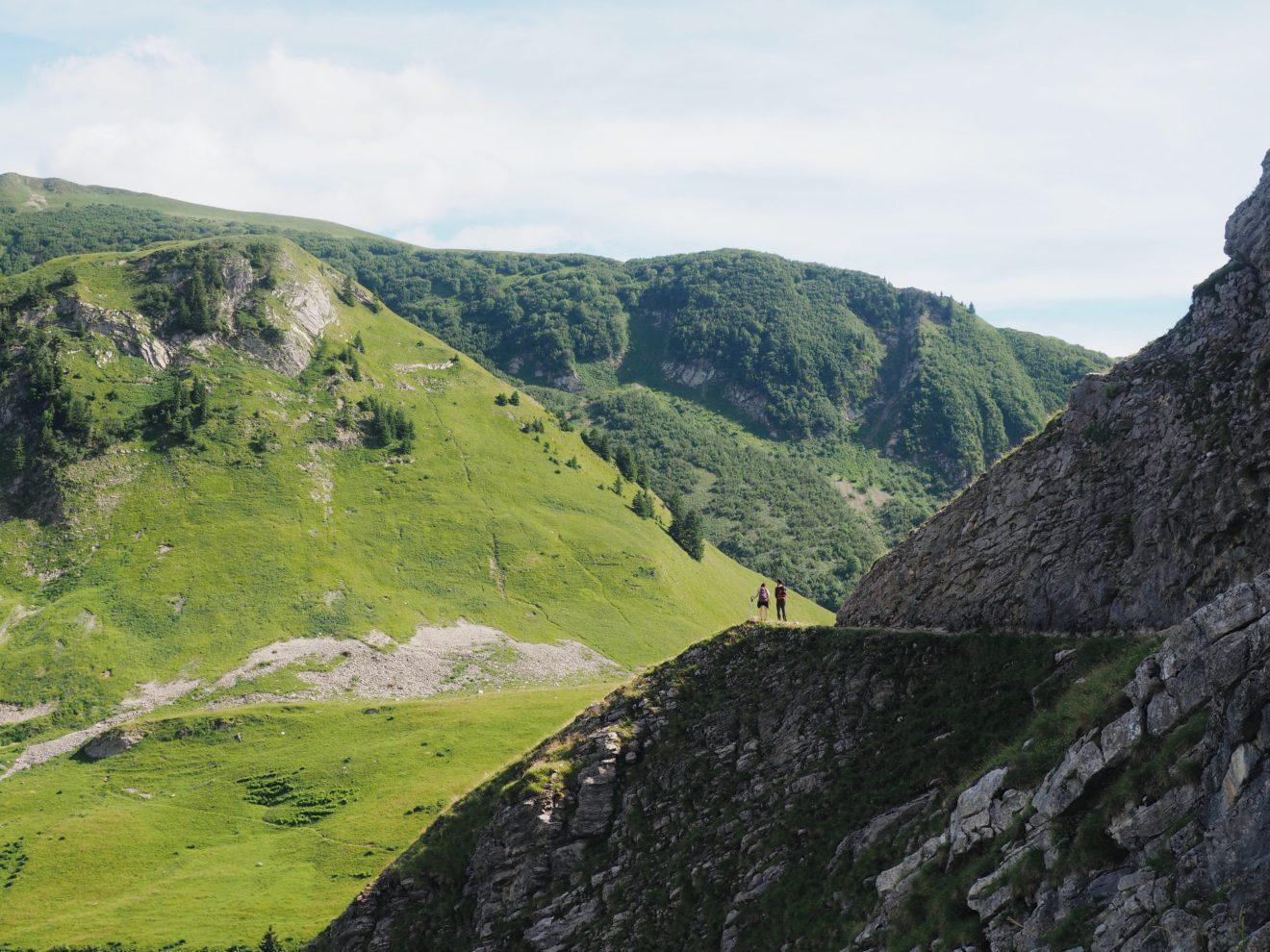 Chemin de randonnée - Alpes
