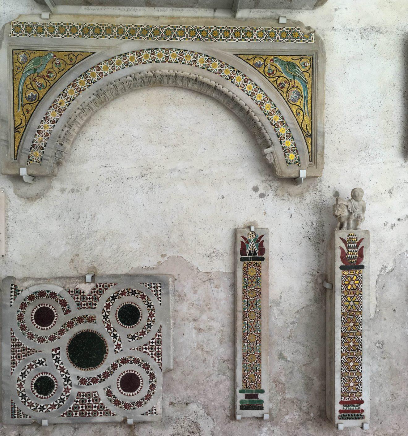 Mosaïques de la côte amalfitaine